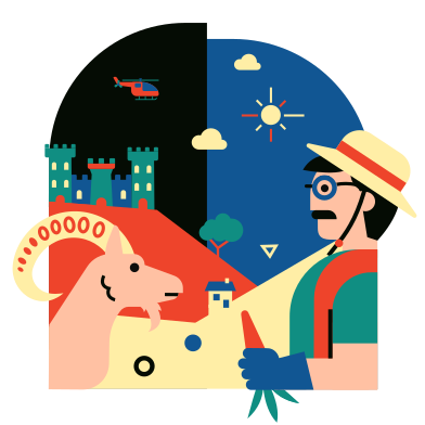 style Countryside images in PNG and SVG | Icons8 Illustrations