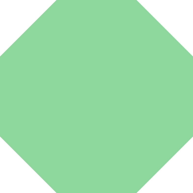 octagon-green Clipart illustration in PNG, SVG
