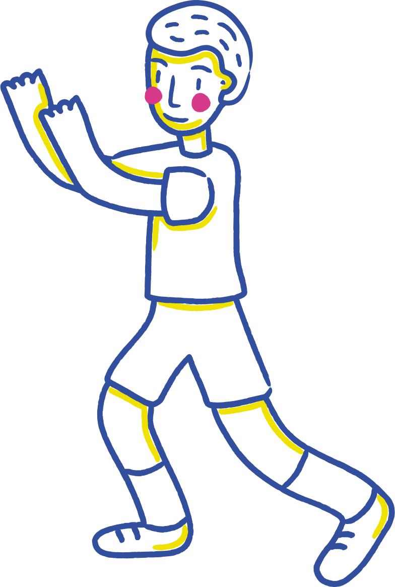 style hands up boy Vector images in PNG and SVG | Icons8 Illustrations