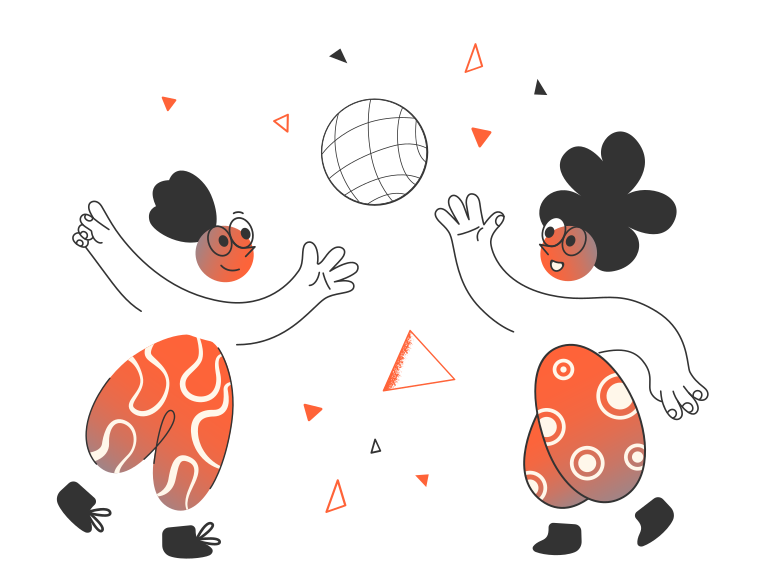 style Kids playing Vector images in PNG and SVG | Icons8 Illustrations