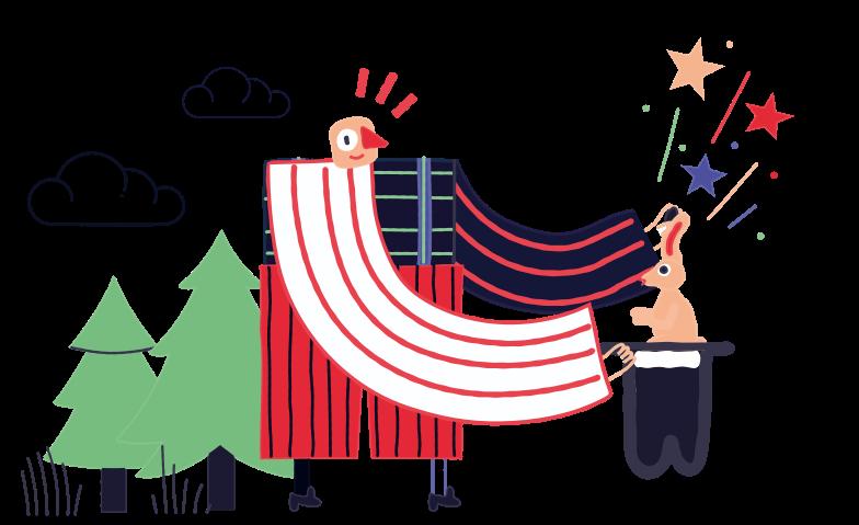 Trick Clipart illustration in PNG, SVG