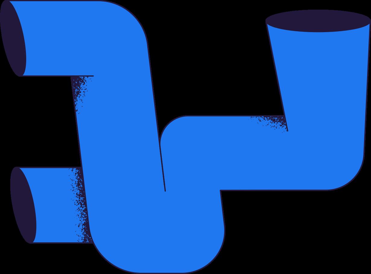 Ilustración de clipart de Pago procesado tuberías en PNG, SVG