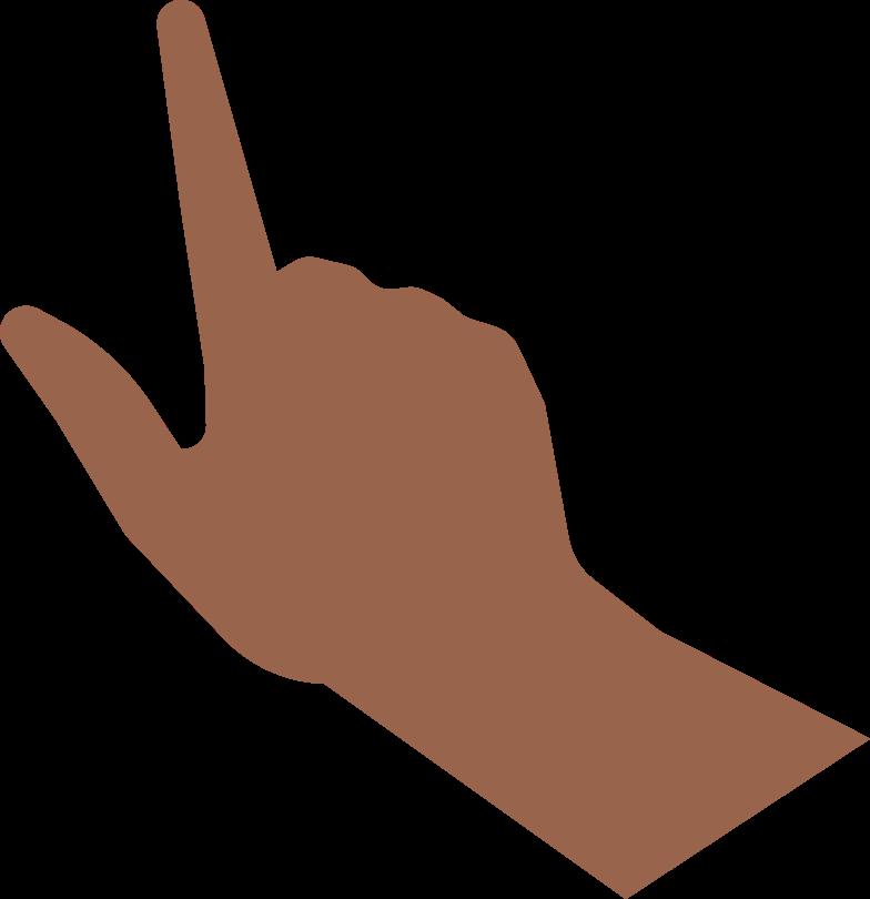 Hand mit smartphone Clipart-Grafik als PNG, SVG