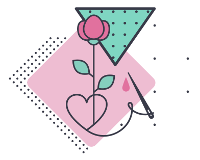 style Embroidery images in PNG and SVG | Icons8 Illustrations