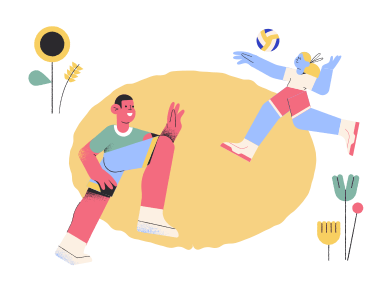 style Play volleyball images in PNG and SVG | Icons8 Illustrations