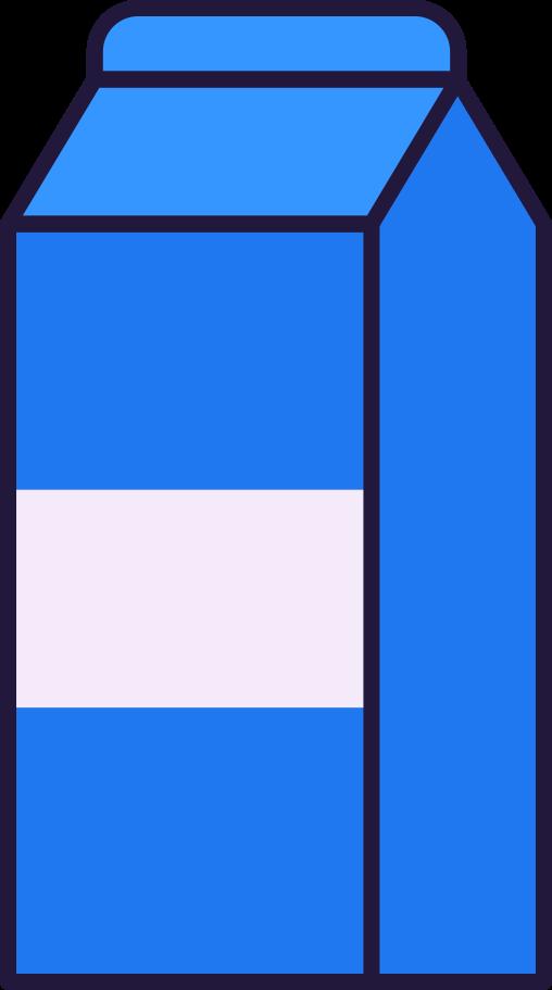 milk Clipart illustration in PNG, SVG