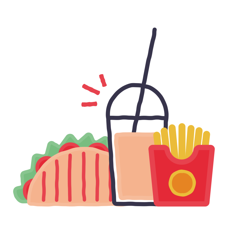 style Fast food Vector images in PNG and SVG   Icons8 Illustrations