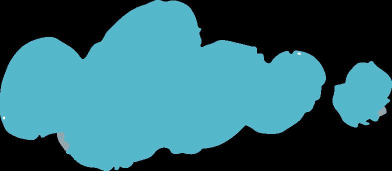 Ilustración de clipart de cloud en PNG, SVG