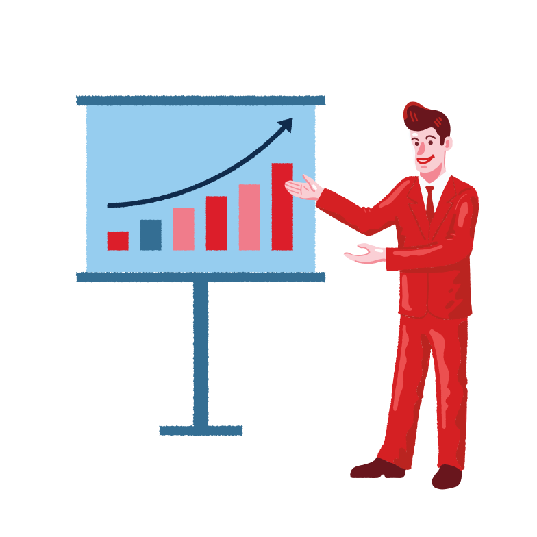 Statistic graph Clipart illustration in PNG, SVG