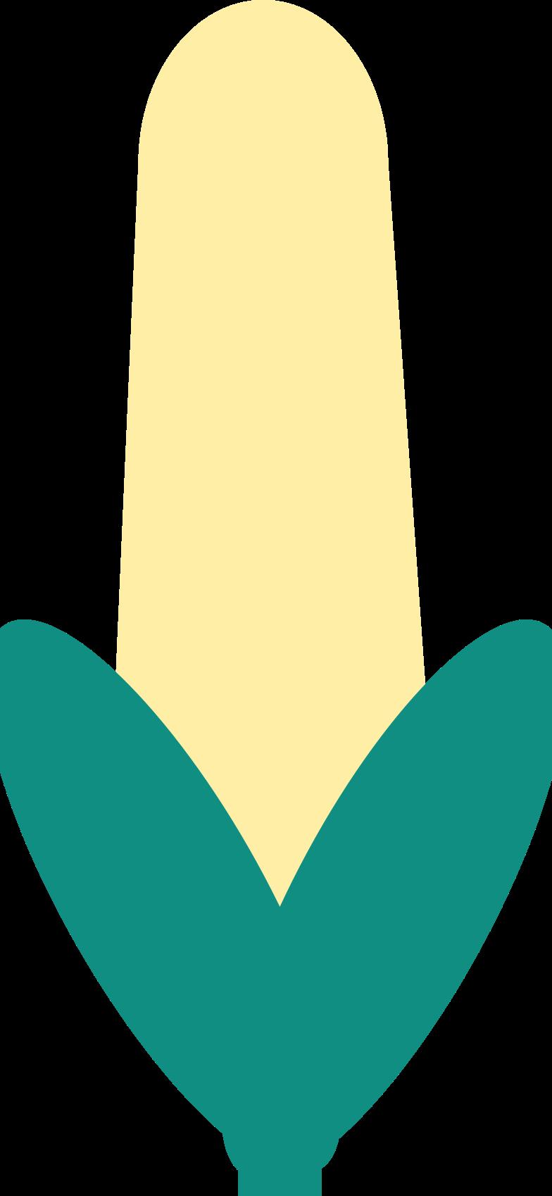 Ilustración de clipart de maíz en PNG, SVG