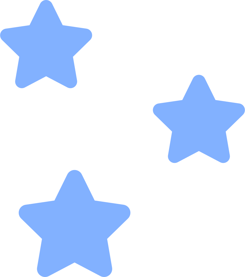 decorative stars Clipart illustration in PNG, SVG