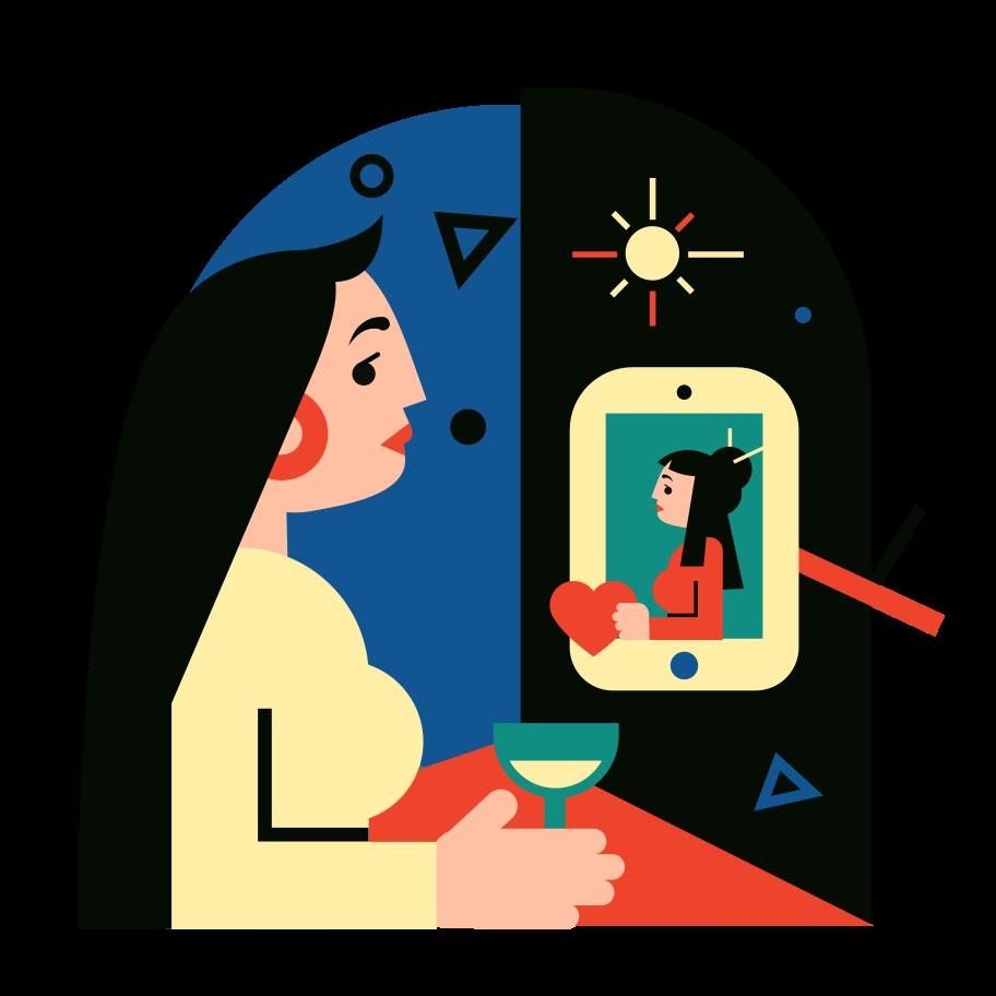 Online world 3 Clipart illustration in PNG, SVG