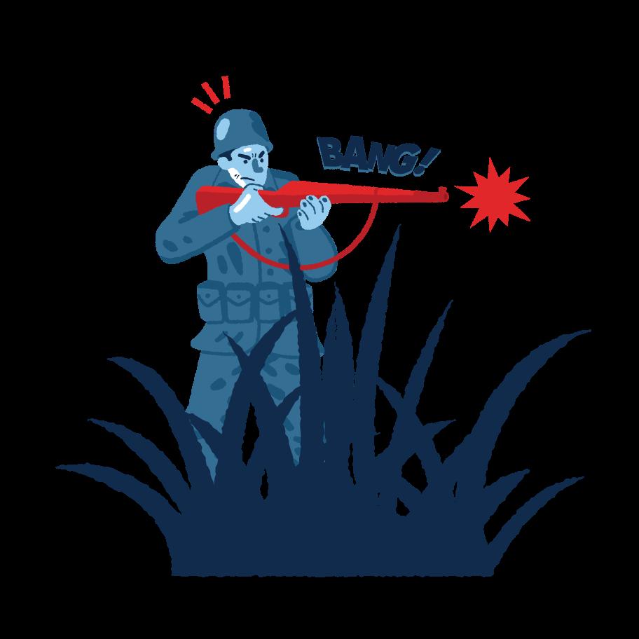 Soldier Clipart illustration in PNG, SVG