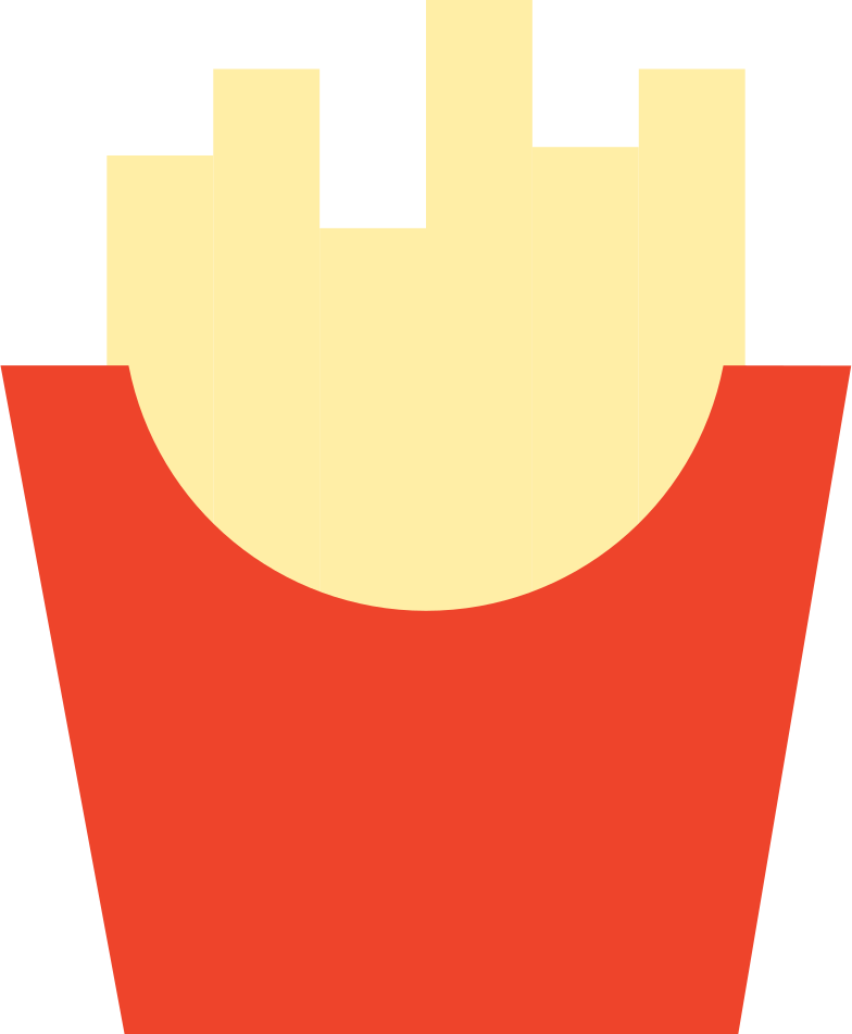 french fries Clipart illustration in PNG, SVG