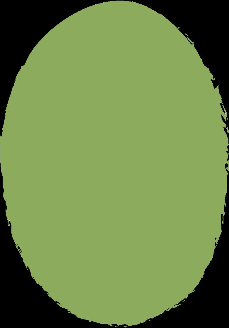 ellipse-dark-green Clipart illustration in PNG, SVG