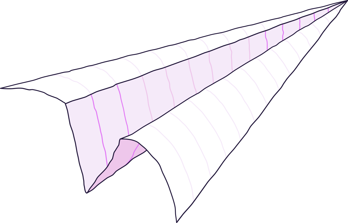 paper-plane- Clipart illustration in PNG, SVG