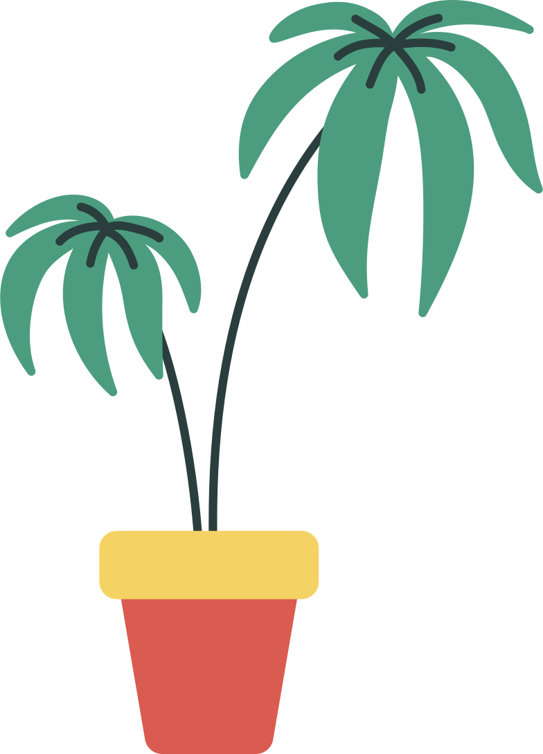style potted palm tree Vector images in PNG and SVG | Icons8 Illustrations