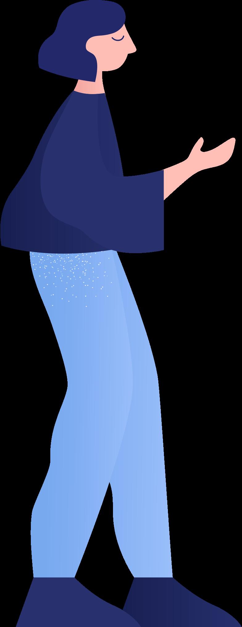 woman Illustrazione clipart in PNG, SVG