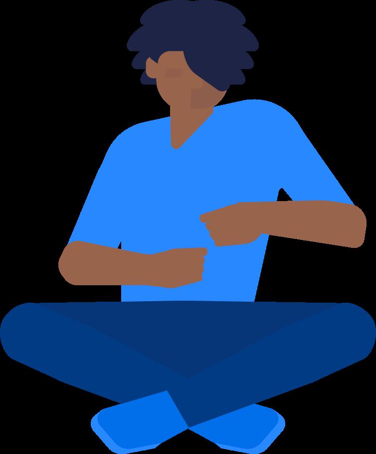 Style  garçon assis Images vectorielles en PNG et SVG | Icons8 Illustrations