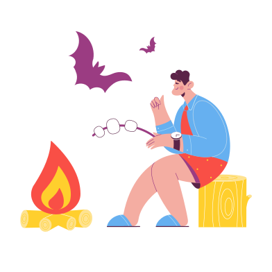 style Scary stories images in PNG and SVG | Icons8 Illustrations