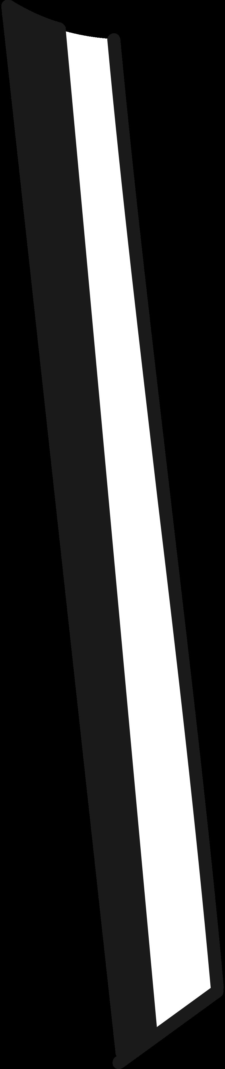 scythe lower part Clipart illustration in PNG, SVG