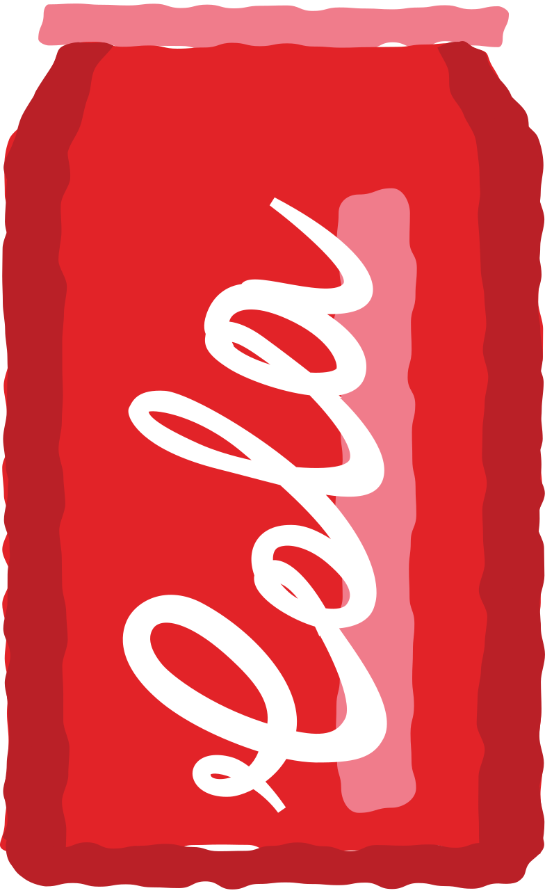 can of cola Clipart illustration in PNG, SVG