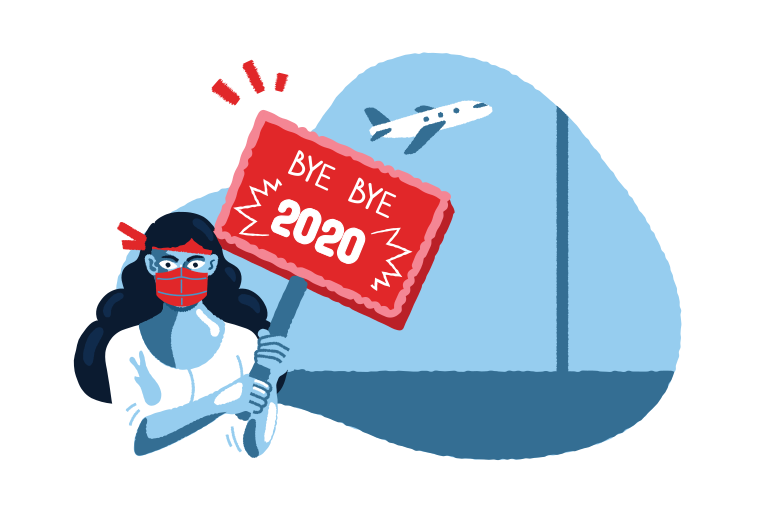 style Go away 2020 Vector images in PNG and SVG | Icons8 Illustrations