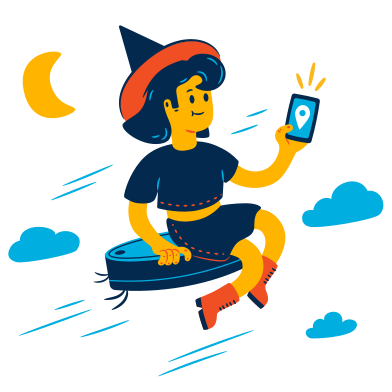 style Modern Witch images in PNG and SVG | Icons8 Illustrations