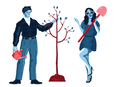 style Plant a tree images in PNG and SVG | Icons8 Illustrations