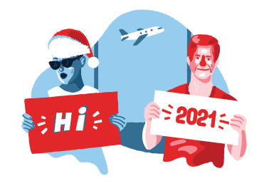 style Welcome to the new year images in PNG and SVG | Icons8 Illustrations