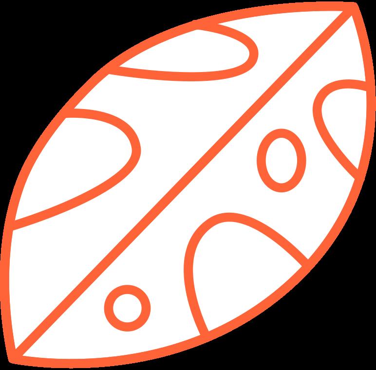delete confirmation 2  leaf Clipart illustration in PNG, SVG