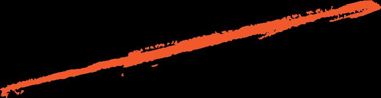 hand gezeichnete linie rot Clipart-Grafik als PNG, SVG