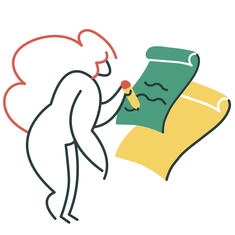 Signing Clipart illustration in PNG, SVG