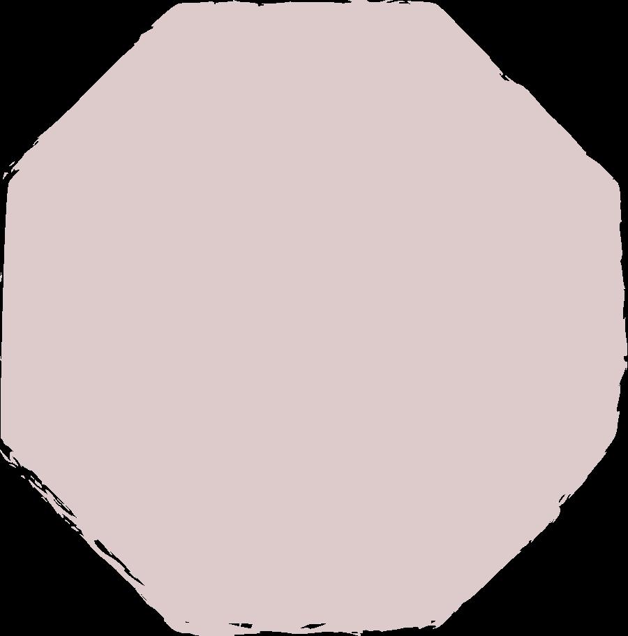 octagon-dark-pink Clipart illustration in PNG, SVG