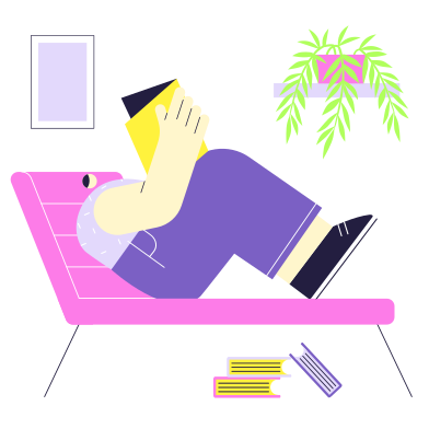 style Rest at home images in PNG and SVG | Icons8 Illustrations