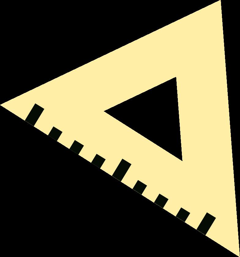 ruler square Clipart illustration in PNG, SVG