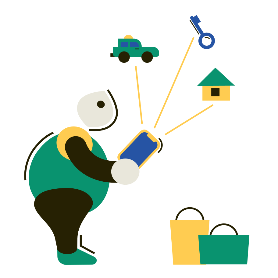 IOT Clipart illustration in PNG, SVG