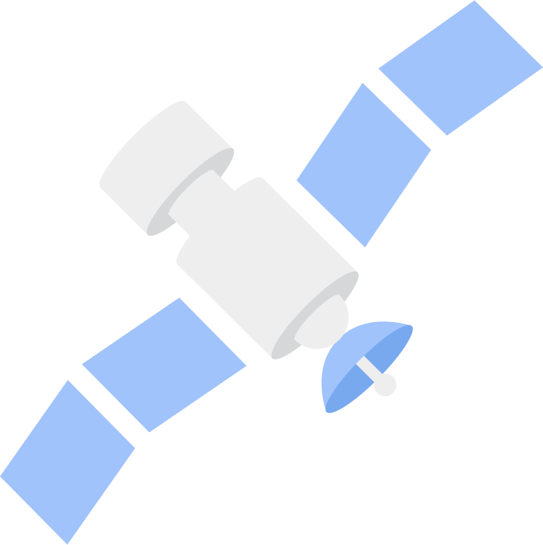 satellite Clipart illustration in PNG, SVG