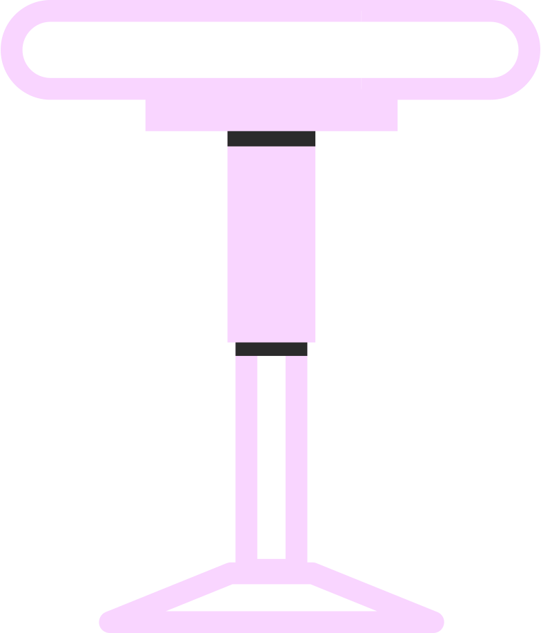 productive work  stool Clipart illustration in PNG, SVG