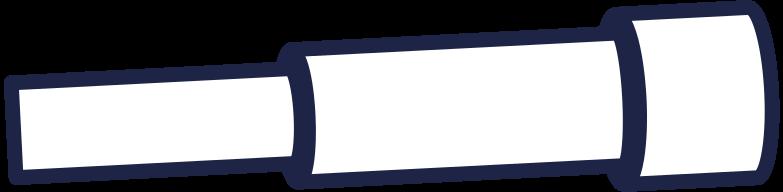 spyglass line Clipart illustration in PNG, SVG