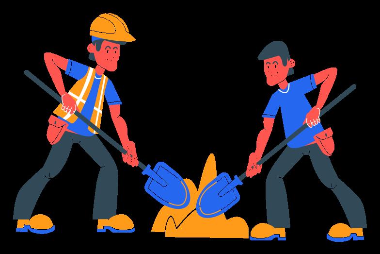 Labor Clipart illustration in PNG, SVG