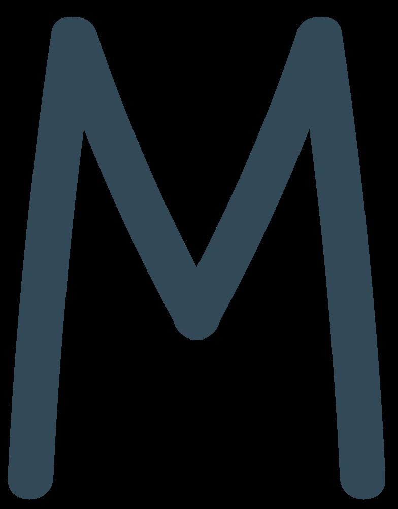 m dark blue Clipart illustration in PNG, SVG