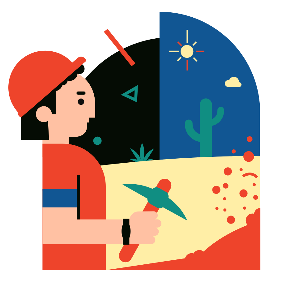 Mining enterprise Clipart illustration in PNG, SVG