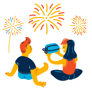 style New Year's gift images in PNG and SVG | Icons8 Illustrations