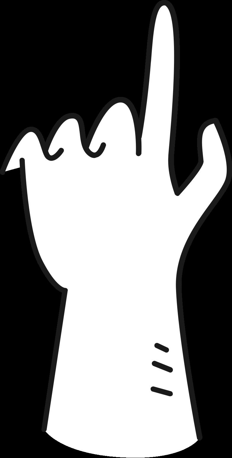 Иллюстрация рука, указывающая вверх в стиле  в PNG и SVG | Icons8 Иллюстрации
