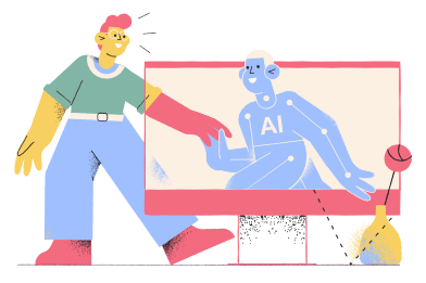 Artificial intelligence Clipart Illustrations & Images in PNG and SVG