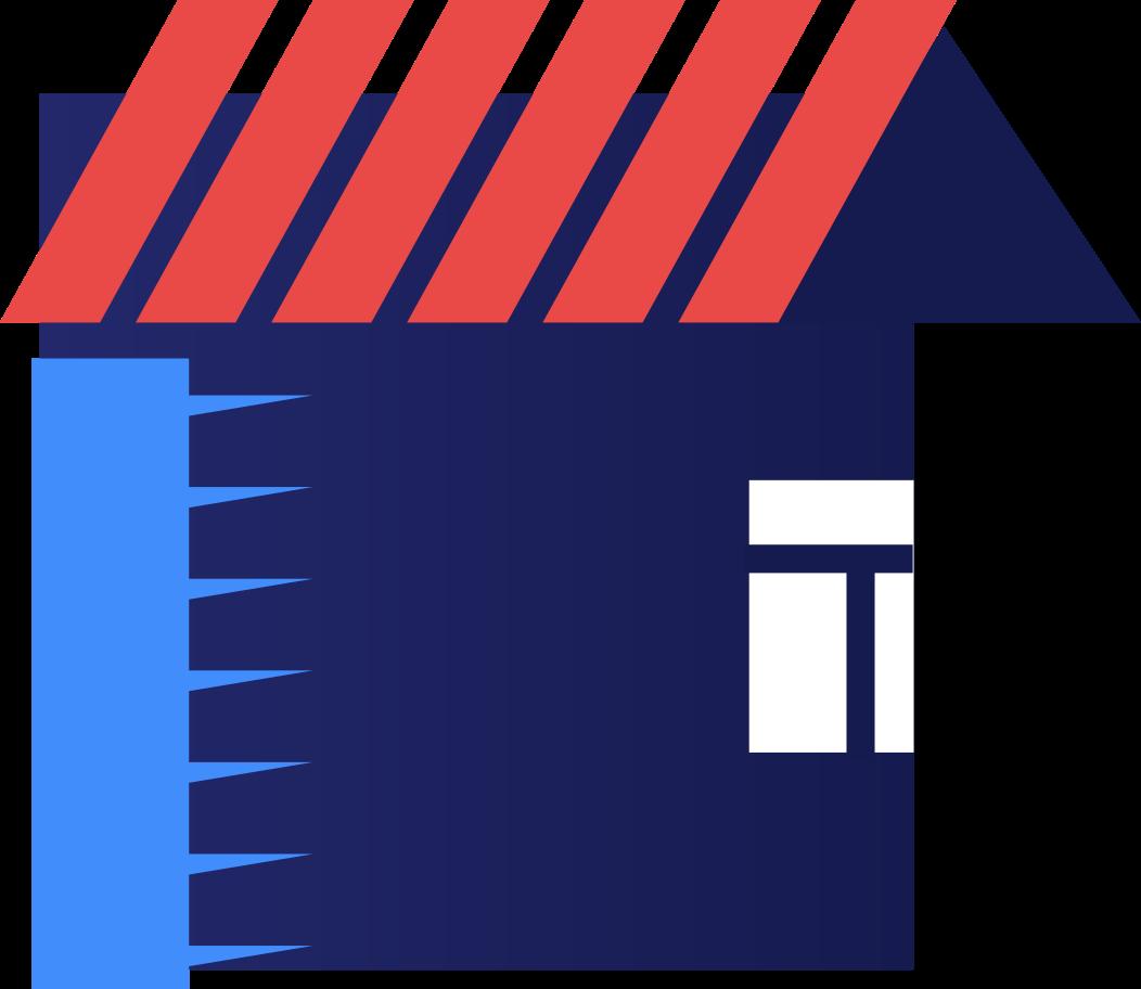 Illustration clipart Maison aux formats PNG, SVG