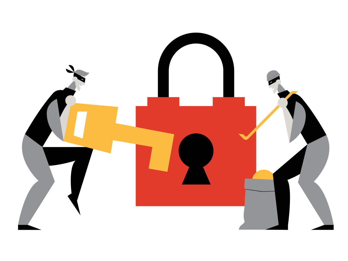 Internet security Clipart illustration in PNG, SVG