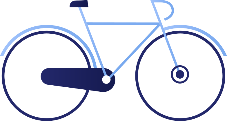 bycycle Clipart illustration in PNG, SVG