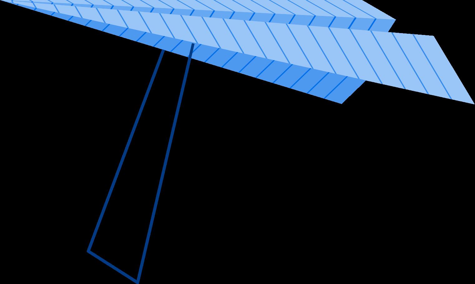 delta plane Clipart illustration in PNG, SVG